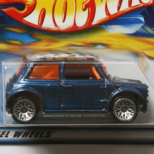 Hot Wheels | Mini Cooper blau