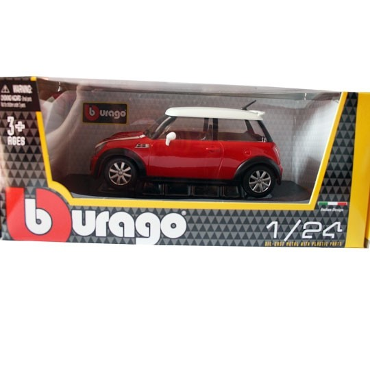 Bburago | BMW MINI Cooper S red