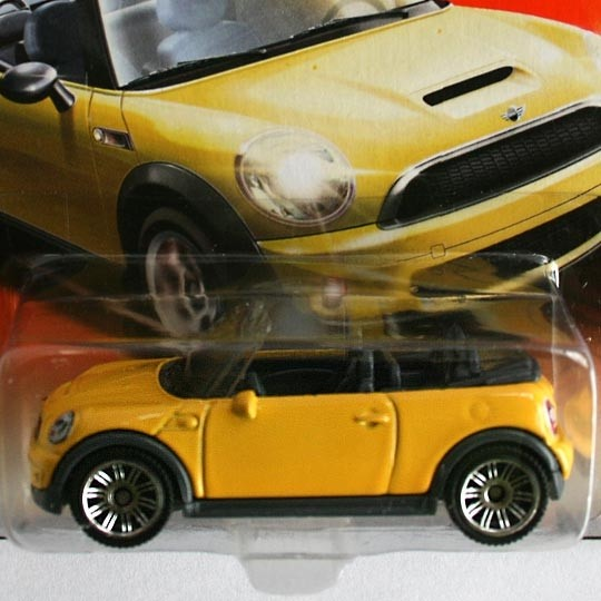 Matchbox | BMW MINI Cooper S Convertible yellow gelb
