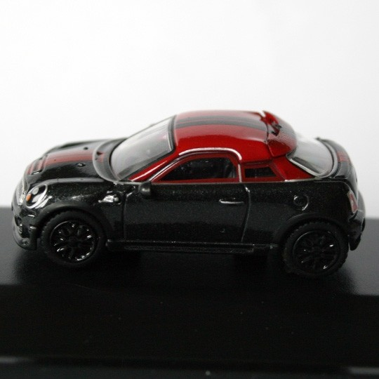 Oxford Diecast | BMW MINI Coupe schwarz / rot