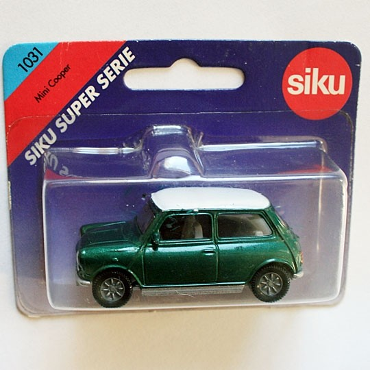 Siku | Mini Cooper green metallic/white