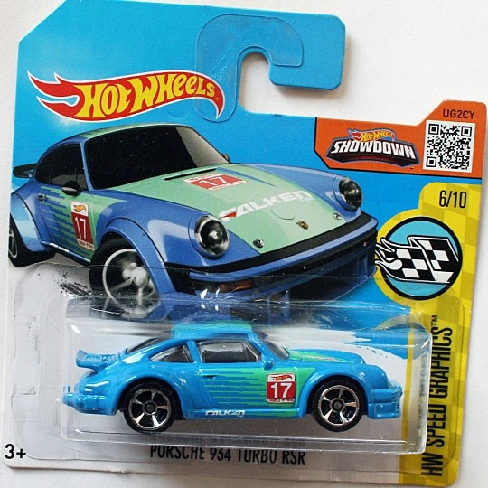Hot Wheels | Porsche 934 Turbo RSR blau #17